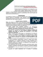 Acuerdo11 CD 2009