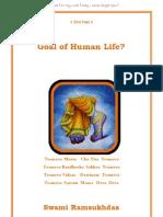 Goal of Human Life -Swami Ramsukh Das ji