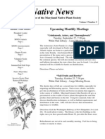 September - October 2005 Native News ~ Maryland Native Plant Society