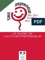 Guide Du Regime Auto Entrepreneur 2012