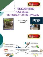 Ier  ENCUENTRO FAMILIA-TUTOR2ºBach.Teresa.Oct2011