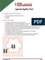 Hexagonal Agility Test