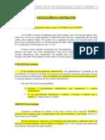 11 - Licitações e Contratos