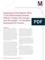 Assessing Enriched Murine CD4+ T Cells Differentiated Towards Effector T Helper Cell Lineages with the Scepter™ 2.0 Handheld Automated Cell Counter