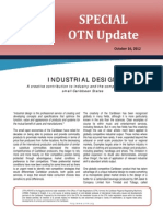 OTN Special Update - A Creative Contribution to Industry and the Competitiveness of Small Caribbean States