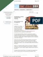 Gambling Complaint - Albert D. Seeno, Peppermill Casino - Associating With Criminals