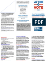 Voter Empowerment Brochure