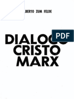 Diálogo Cristo Marx, Alberto Zum Felde