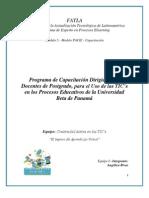 Programa de Capacitación Dirigido a los Docentes de Postgrado, para el Uso de las TIC´s en los Porcesos Educativos de la Universidad Beta de Panamá.pdf