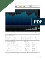 Final Project - TRI Analyst Report - Jay Prevatt
