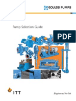 Goulds Pump Selection Guide 2007