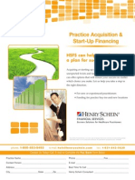 Practice Acquisition & Start-Up Financing