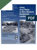 Gray Water Brochure