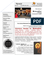 Fall 2012 Newsletter for Web