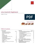 WFC 3Q12 Quarterly Supplement