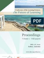 ICLS2012 Proceedings Vol 1 2012