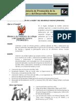 Ministerio de Promoción de la Mujer y del Desarrollo Humano