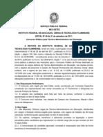 Edital Tec.adm. FINAL e Anexo I