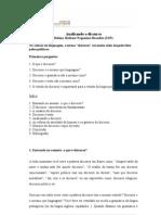 Analisando o Discurso (Texto de Helena Hathsue Nagamine Brandão (USP)