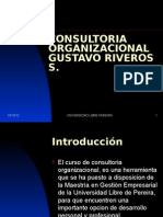PRESENTACION CONSULTORIA ORGANIZACIONAL