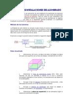 Cálculo Niveles de Iluminación de Interiores