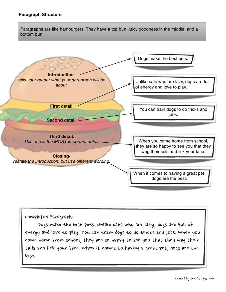 Cheeseburger essay template education homework