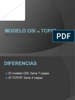 Modelo osi vs Tcp