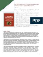 Independent Camu Camu Review Natural News