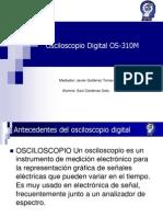 Osciloscopio Digital OS-310M  LG