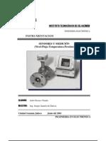 Sensores y Medicción de Nivel Flujo  Temperatura Presión