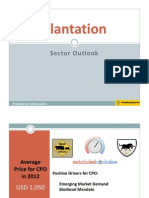 Plantation Sector Outlook