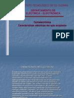 Caracteristicas Electricas de Los Optocopladores