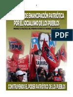 Proyecto político del FPMR