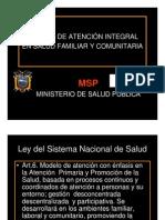 6-Modelo de Atencion MSP Pres