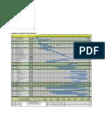 Internal Construction Schedule