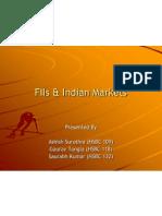 FIIs & Indian Markets v1.2