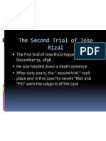 The Second Trial of Jose Rizal
