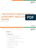 Dynamic Indian Foreign Investment Regulatory Regime