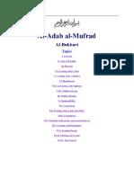 AKHLAQ-Adab Al-Mufrad - Imam Bukhari