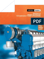 W32 Engine Technology for Emergency Power Applications