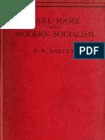 Salter, Karl Marx and Modern Socialism