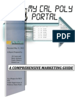 MARKETING GUIDE - My Cal Poly Portal - Information Technology Service Department - T6