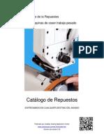 Lanzadera y Garfio para Maquinas de Coser Trabajo Pesado (1)