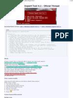 Windows Expert Tool - Readme