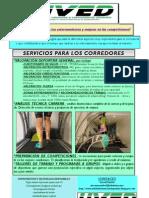 PUBLICIDAD CARRERA UNIDAD VALORACIÓN DEPORTIVA OCTUBRE 2012