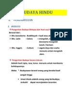 Budaya Hindu (Materi II)