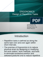 Design of Repetitive Work