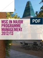 MSc MPM Brochure