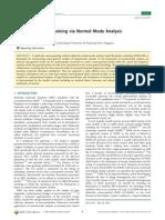 Multiscale Coarse-Graining via Normal Mode Analysis