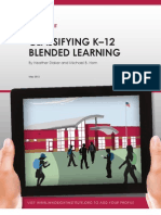 Heather Staker and Michael Horn 2012_classifying K-12 Blended Learning